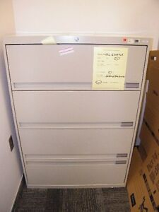 Ex-Government Vertical File Cabinets. HIGH QUALITY. With Keys.