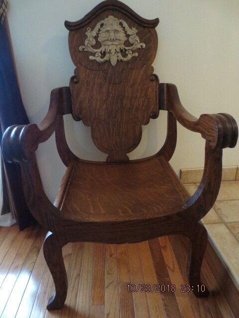 Chair - Antique Man Of The North