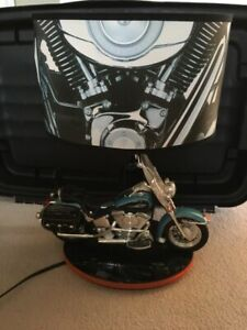 Harley Davidson Motorcycle Night Light and Lamp