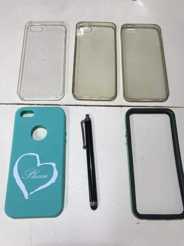5 cover + penna x Iphone 5-5S-SE
