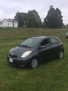 Toyota Yaris (with winter tires)