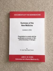 German New Medicine, Book & Chart