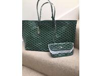 Goyard tote handbag variety colours comes with coin purse