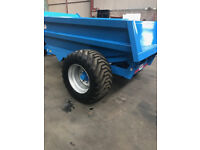 New heavy duty 8 ton dump trailer,. no vat!