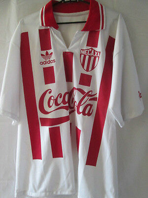 Necaxa Rayos 1993-1995 Home Football Shirt Size Medium /10274 image