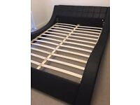 Beautiful Contemporary Style King Size Bed Frame