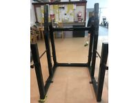 Selling 2nd hand Olympic Fitness Commercial Squat Power Rack complete with safety bars