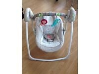 Baby bouncer (almost new)