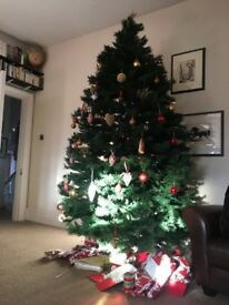 Free artificial 7 foot Christmas tree