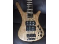 Warwick $$ 5 string bass (German made)