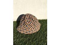 Aquascutum woman's Hat (Bucket hat reversible)