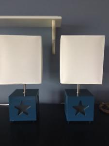Lampes de table de chevet ou bureau pour chambre enfants