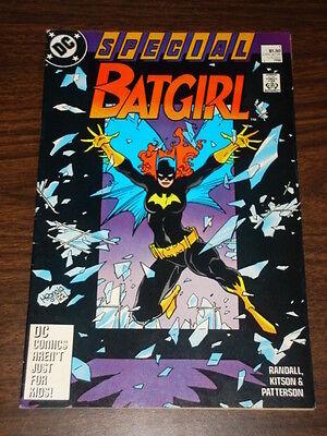BATGIRL SPECIAL #1 BATMAN DARK KNIGHT VFNM CONDITION 1988