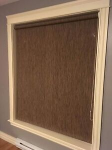 Privacy roller blinds