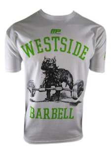 Westside Barbell T-shirt XXL White Powerlifting Weightlifting