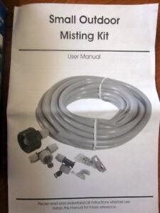 Outdoor Garden Misting Kit