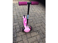 Girls scooter 2-5Y