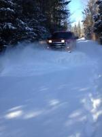 """""""Business Opportunity"""" Snow Plowing Contracts & Plows For Sale"""