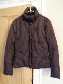 Armani goose feather jacket/coat size 12 (42 European size) £35