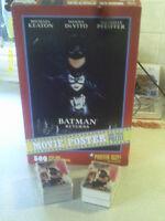 BATMAN RETURNS CARTES ET CASSE TETES 1992
