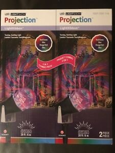 Outside decorations projection Christmas lights new in box