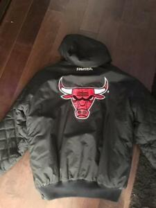 Chicago Bulls Jacket with hoodie $45
