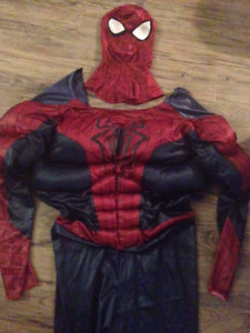 Spiderman Halloween costume -  Men's size medium