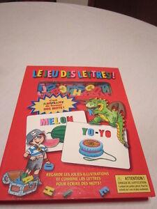 Livre «Le jeu des lettres» (3 ans et plus)