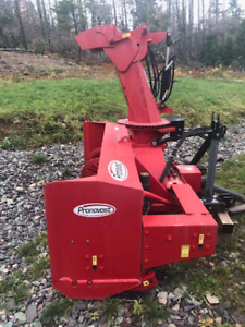 "86"" Pronovost Rear Mount Snowblower"