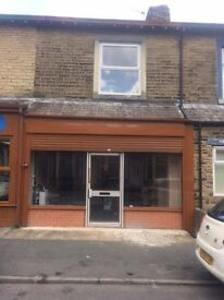 Newly Modernised Shop to Let with 3 bedroom accommodation, Long Lease available £550 PCM + Deposit