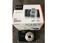 Sony DSC-W800 Camera - No Battery