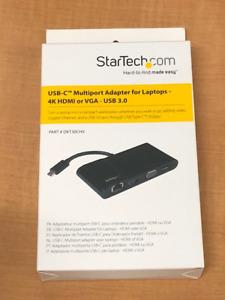 StarTech.com USB-C Multiport adapter(HDMI, VGA, USB and network)