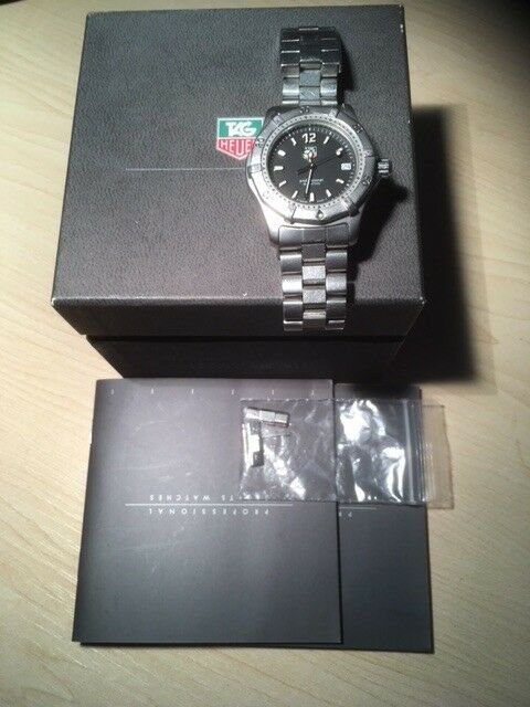 Lovely Mens Watch Tag Heuer 2000 Quartz Wk1210 In