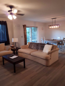 Renovated & Furnished 2 Bed 1 Bath main floor house