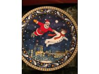 "Used, Royal Worcester 2003 Christmas Tales ""A Night To Remember"" fine bone china plate for sale  North Yorkshire"