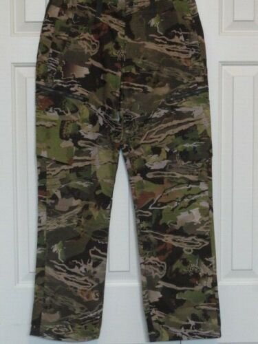 New! Mens UNDER ARMOUR UA ArmourVent NFZ FOREST CAMO FIELD PANTS 1328537-940