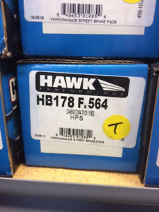 Hawk HPS brake pads for Subaru Impreza, Nissan 300ZX