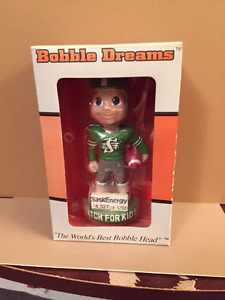 Saskatchewan Roughriders BobbleHead Doll