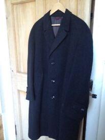 Gents Vintage Wool Overcoat in excellent condition