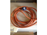 20m gas piping and regulator