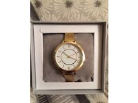Brand New In Packaging Ladies Scandi Gold Topshop Watch