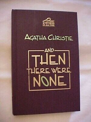 AND THEN THERE WERE NONE by AGATHA CHRISTIE; IMPRESS BEST MYSTERIES