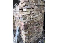 Reclaimed London Stock bricks, 90p each