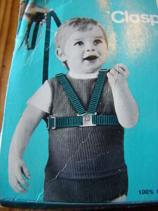 Vintage 1970's Mothercare Clasp Fast Baby Harness