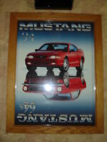 MUSTANG ANNIVERSARY POSTER