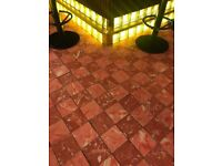 Exclusive hand made tiles