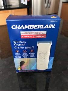 BRAND NEW CHAMBERLAIN GARAGE DOOR WIRELESS KEYPAD