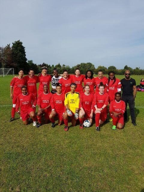 Ladies/womens football soccer