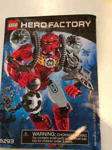 Lego HERO FACTORY figures and extras