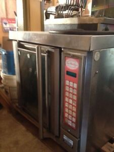 Garland 1/2 convection oven